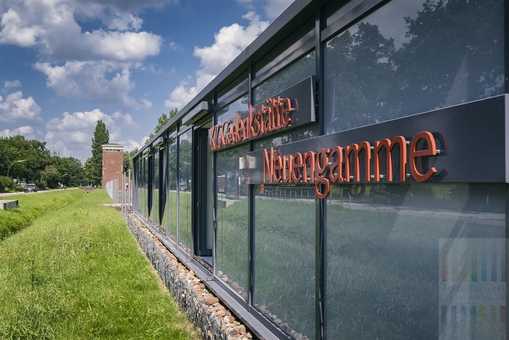Auf dem Gelände des ehemaligen Konzentrationslagers Neuengamme befindet sich heute die KZ-Gedenkstätte