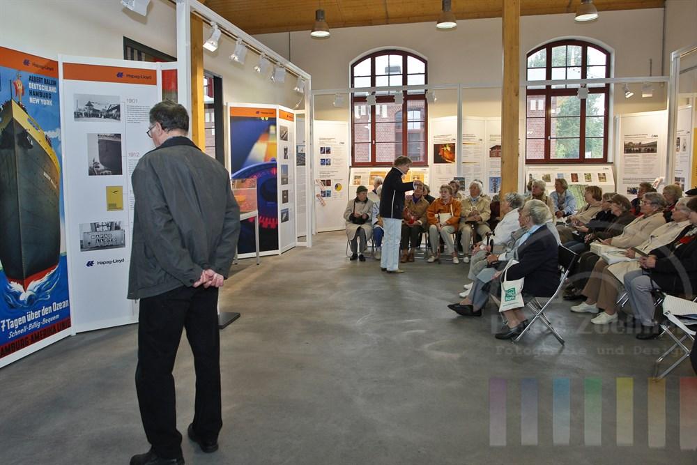 Eingangsbereich Ballinstadt, Vortrag und Informationsraum