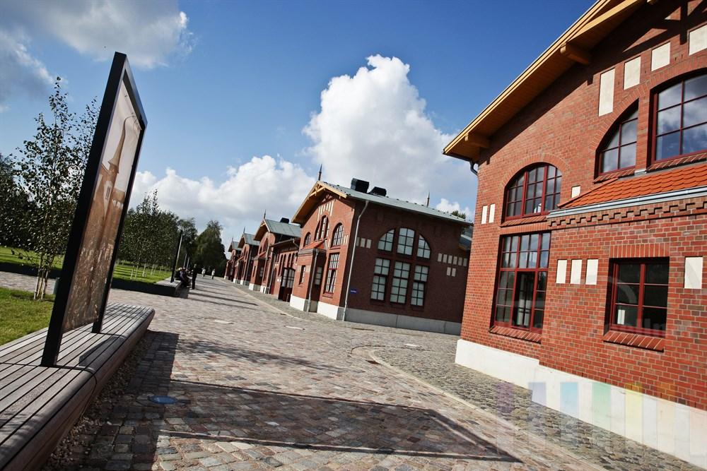 Aussenansicht Auswanderermuseum BallinStadt in Hamburg-Veddel