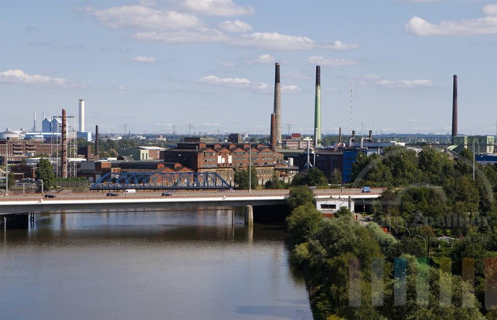 Kupferhütte Norddeutsche Affinerie in Hamburg-Veddel