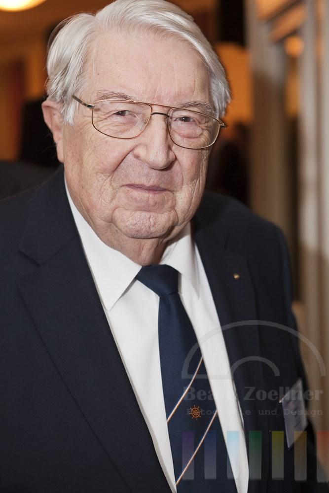 Helmuth Kern, Portrait, anlässlich des Blankeneser Neujahresempfanges 2011
