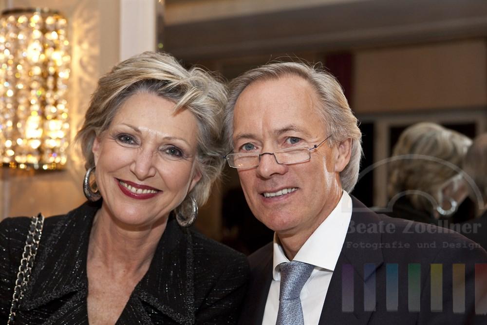 Almuth und Bernd Wehmeyer anlaesslich des Blankeneser Neujahrsempfang 2011