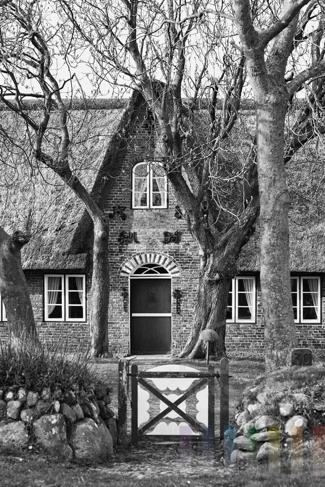 historisches Friesenhaus in Keitum/Sylt