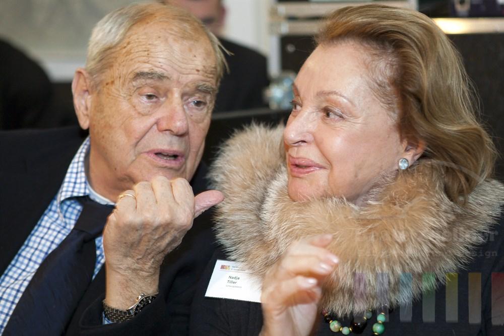 Schauspieler-Ehepaar Walter Giller und Nadja Tiller hatte sich viel zu erzählen