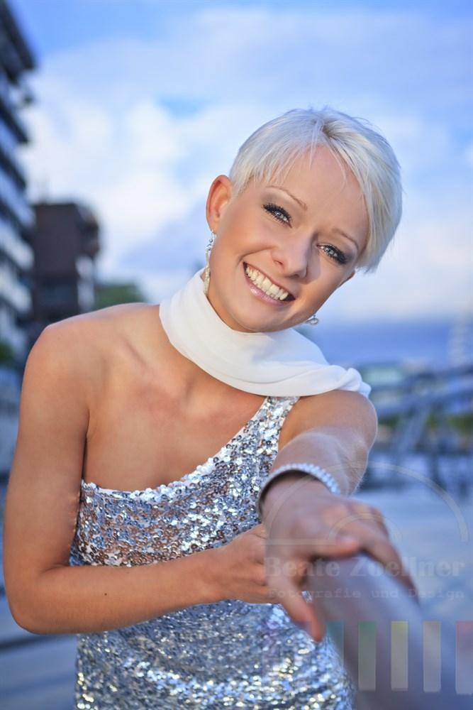 Newcomerin des Jahres 2012: Die deutsche Schlagersängerin Christin Stark
