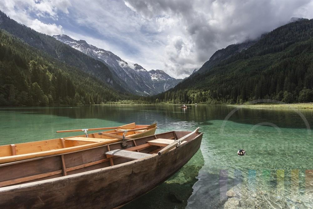 Idylle am Jägersee bei Kleinarl im Salzburger Land