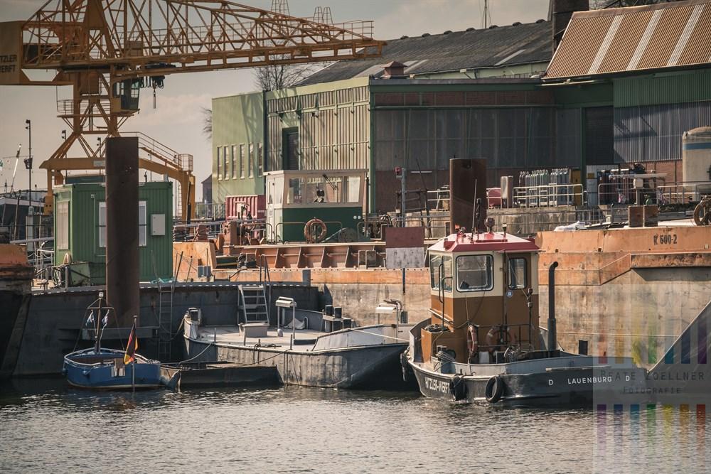 Impression Hitzler-Werft in Lauenburg an der Elbe