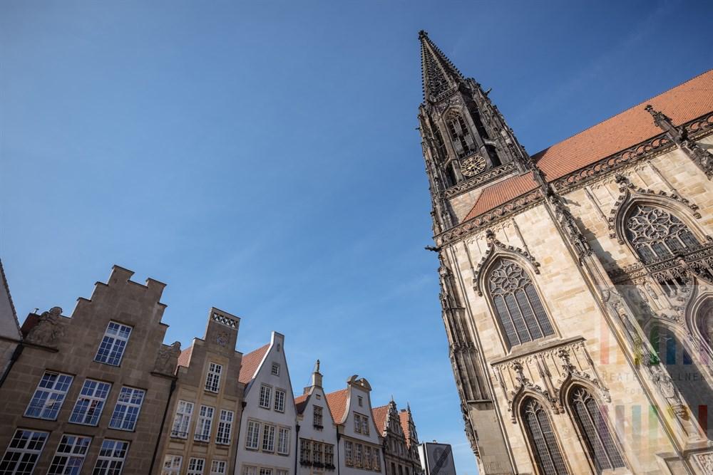 Im Zentrum der Universitätsstadt Münster