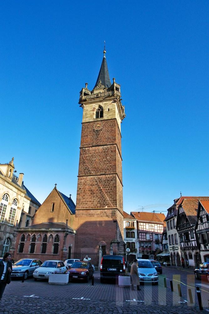 Der Kapellturm (Wachturm) in Obernai/Elsass