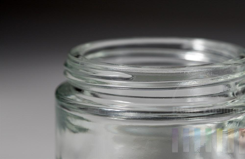 Detail, Makro: Schraubverschluss eines Glasbehälters