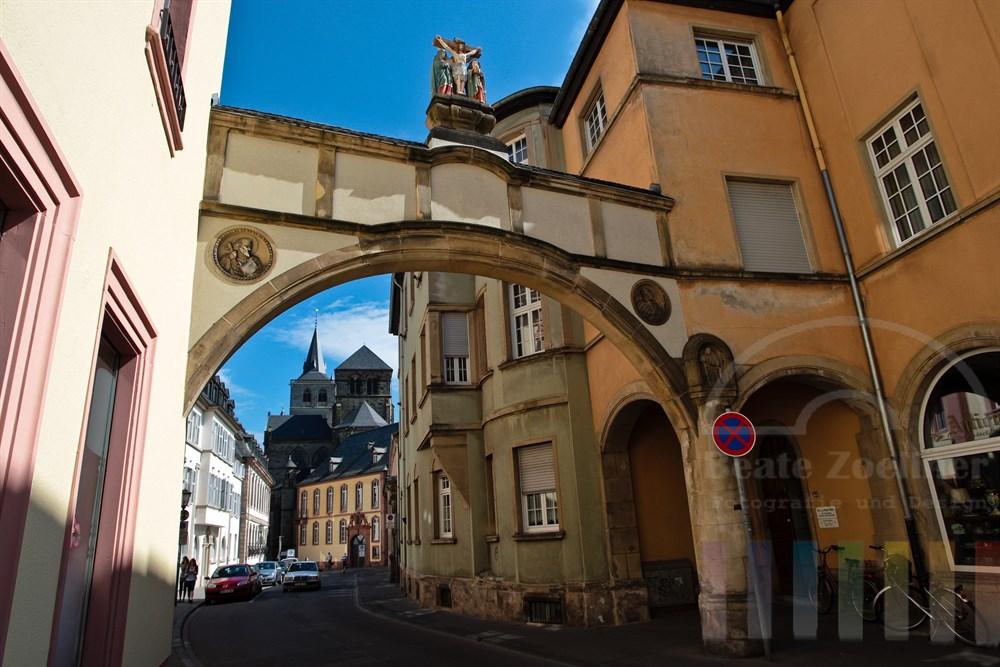 Tor zur historischen Altstadt von Trier