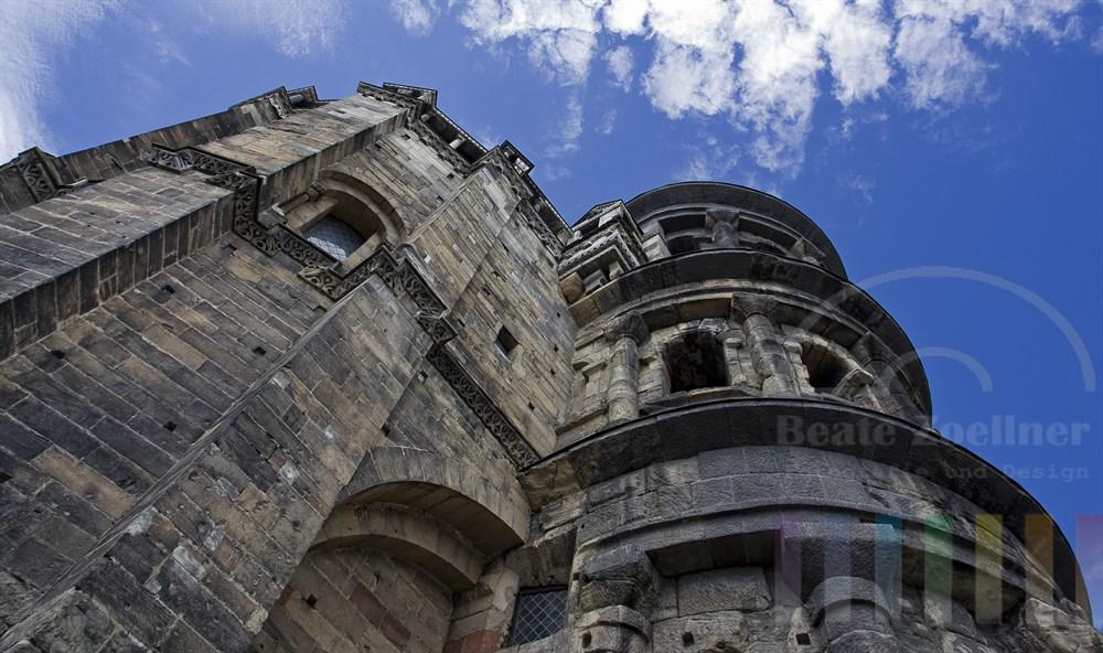 Das Porta Nigra ist das Wahrzeichen von Trier