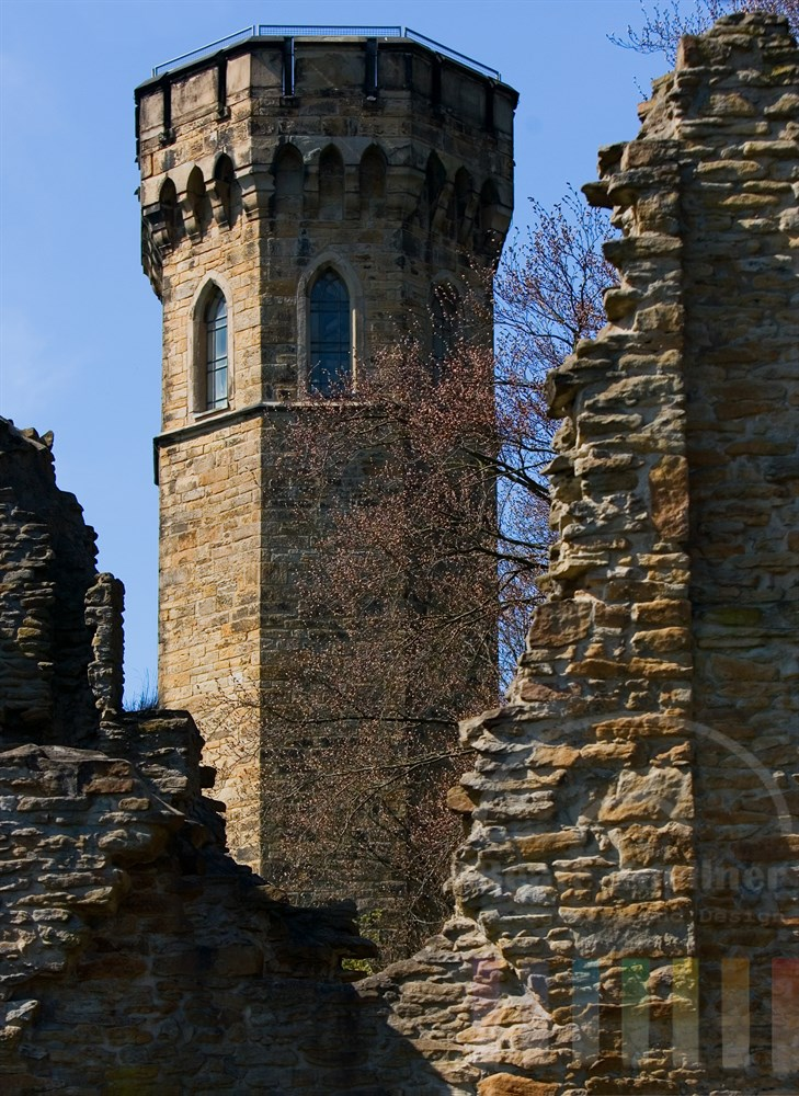Baudenkmal Ruine Hohensyburg, Reste einer ehemaligen Burganlage