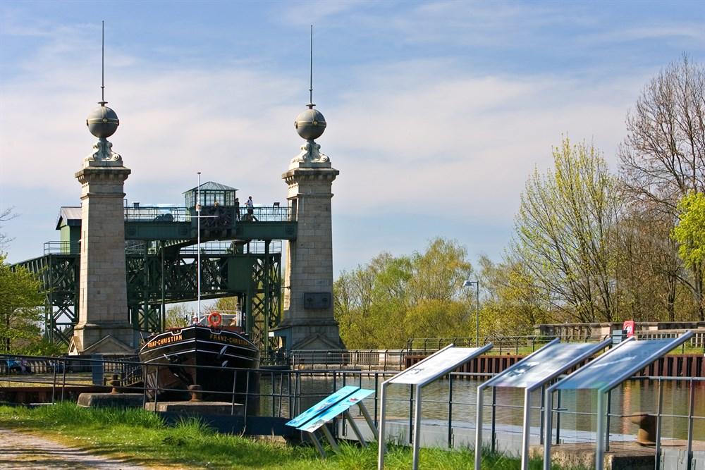 Das historisches Schiffshebewerk Henrichenburg in Waltrop ists heute Bestandteil des westfälischen Industriemuseums